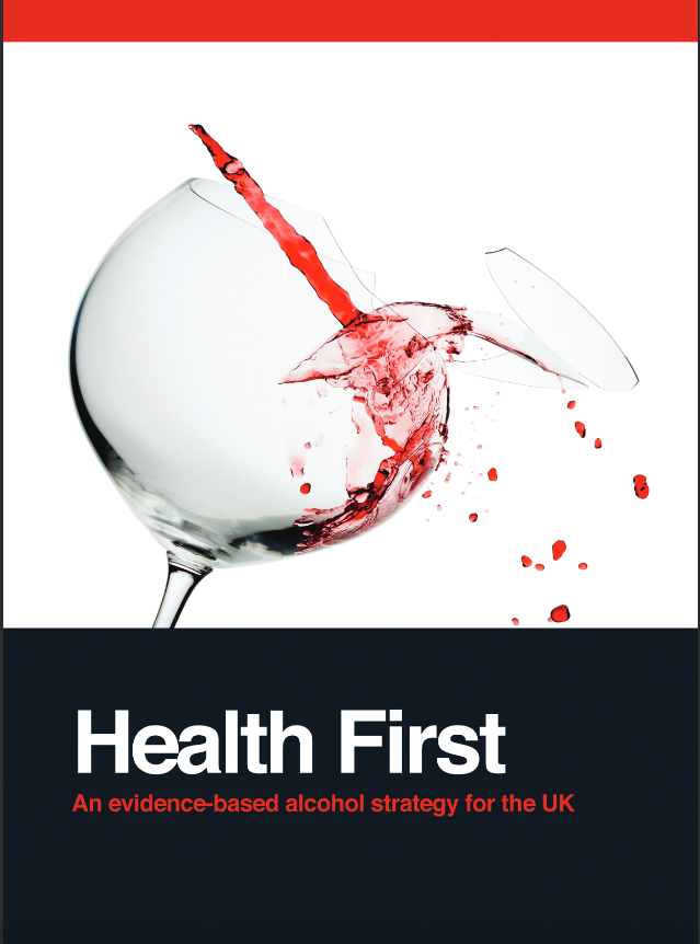 Cover page of Health First report