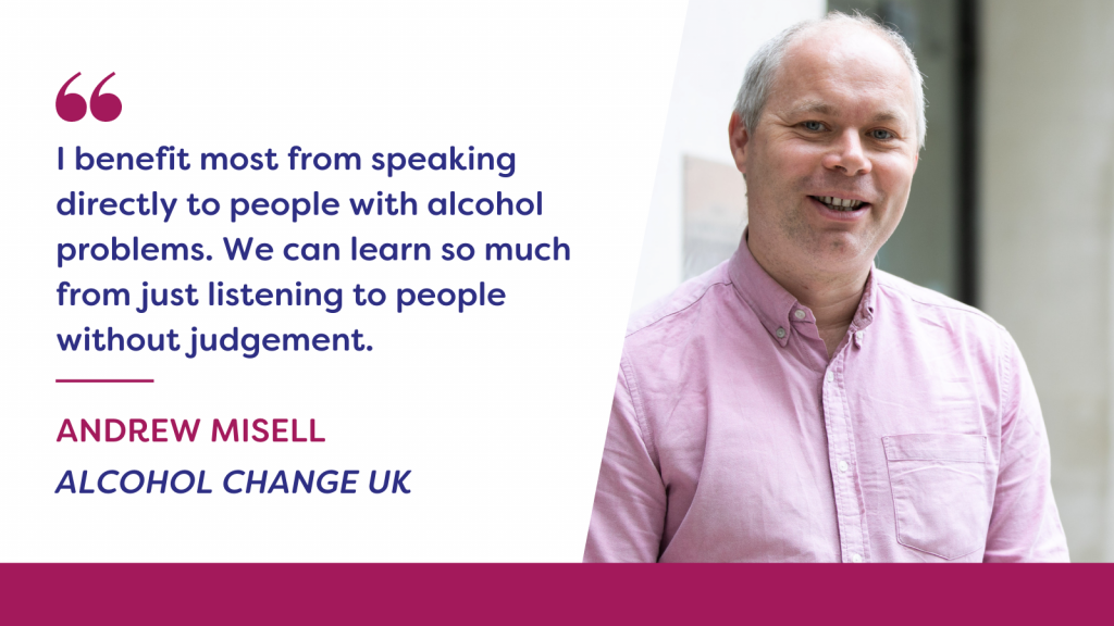Image of Andrew Misell, Alcohol Change UK